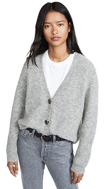 Women Classic Flare Sleeve Open Front Cropped Short Cardigan WST