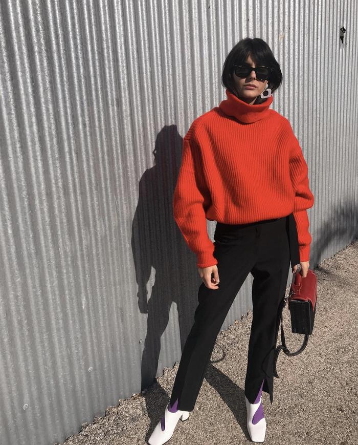 Sweater capsule wardrobe