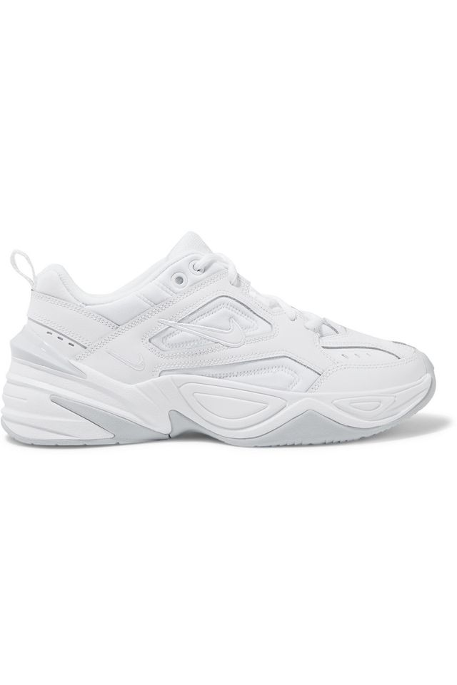 M2k Tekno Leather And Neoprene Sneakers