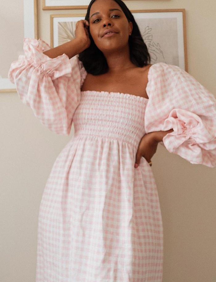 Sleeper dresses: Karina Style Idealist wearing Sleeper