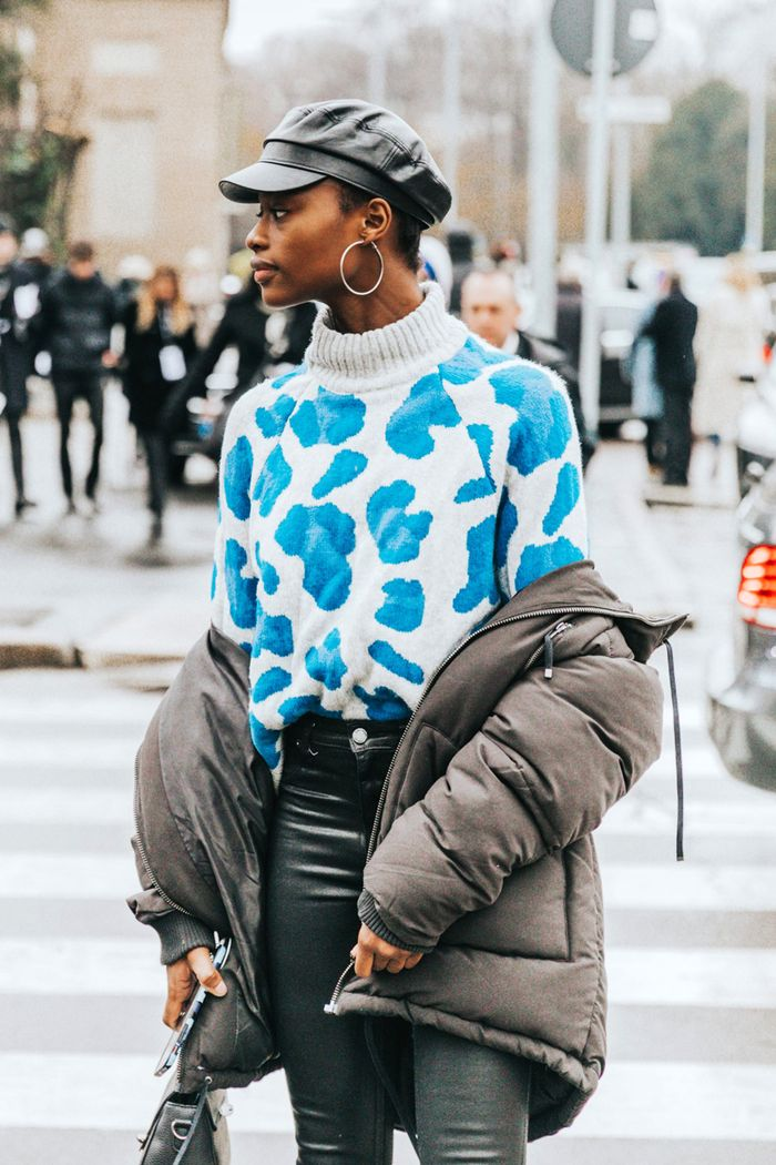 Fall outfit ideas for 2018: animal print