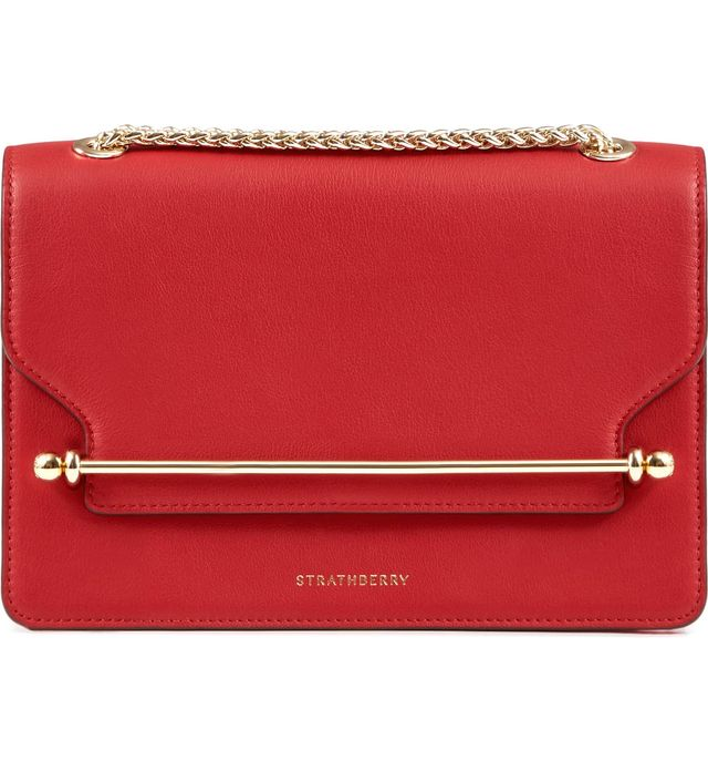Strathberry East/west Leather Crossbody Bag -