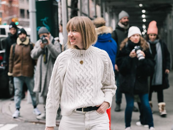 The best chunky sweaters to wear with jeans