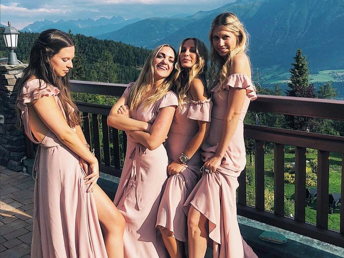 Fall 2018 bridesmaid dress colors