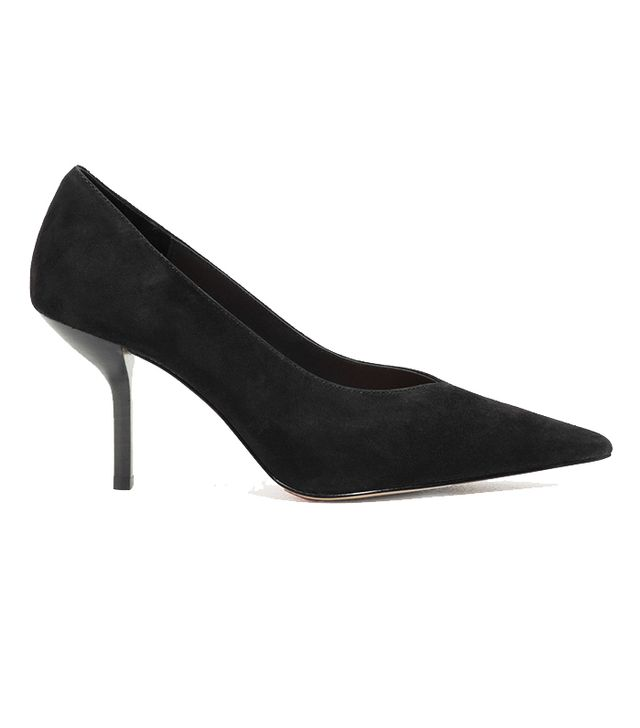 & Other Stories Pointed Suede Heels