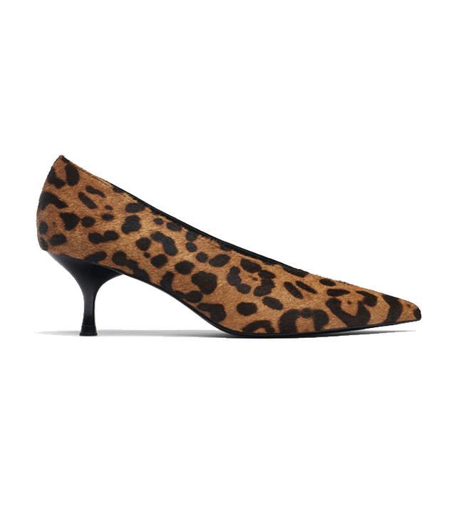 Uterque Embossed Combined Court Shoe