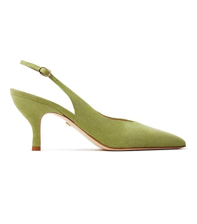 Sania D'mina ELENA green suede