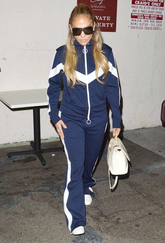 Jennifer Lopez Tracksuit