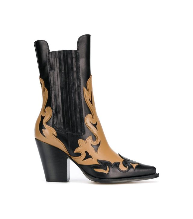 two tone cowboy boots