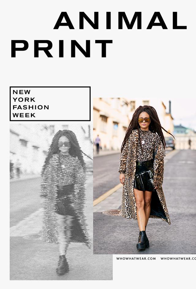 Leopard-print fall trend
