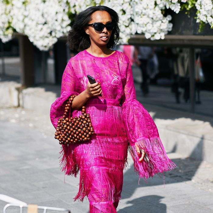 Stockholm Street Style: Pink