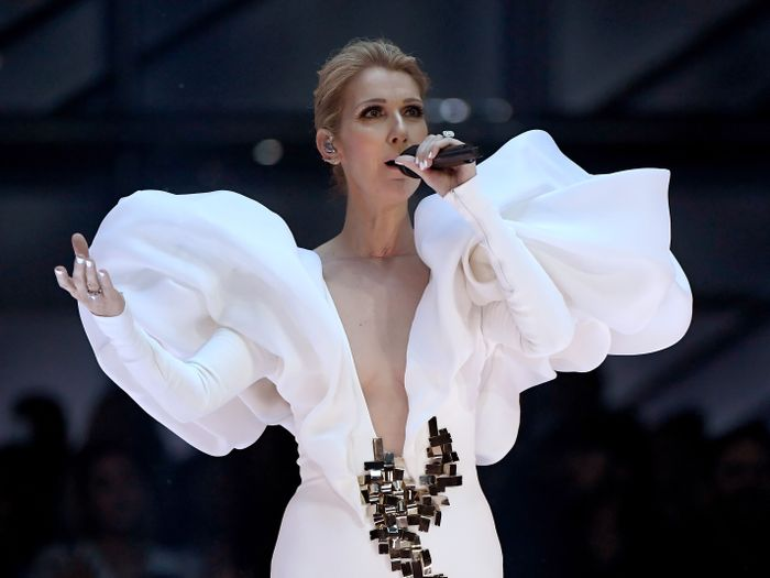 Celine Dion style