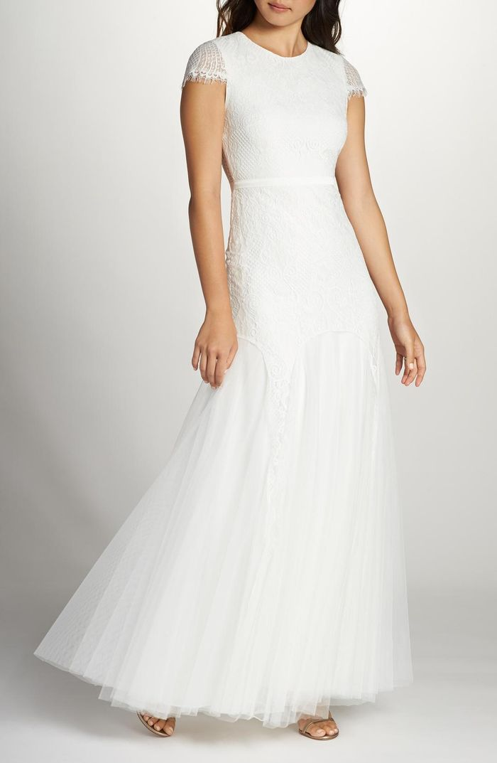 17 Wedding Dresses For Brides Over 40 Who What Wear