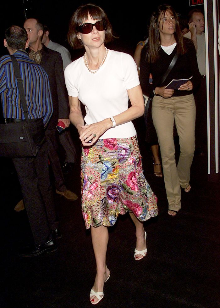 Anna Wintour Fashion Week Outfits in 2000s