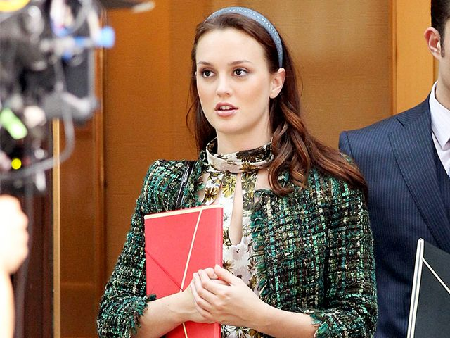 Blair Waldorf skirt suit