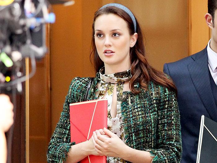 Blair Waldorf skirt suit