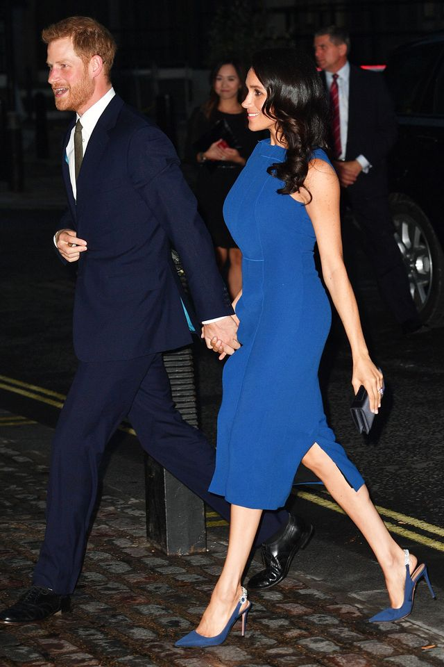 Meghan Markle blue dress