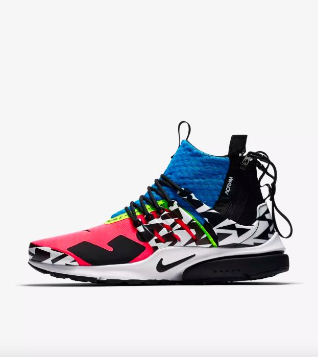 Nike Air Presto Mid Utility x Acronym Sneakers