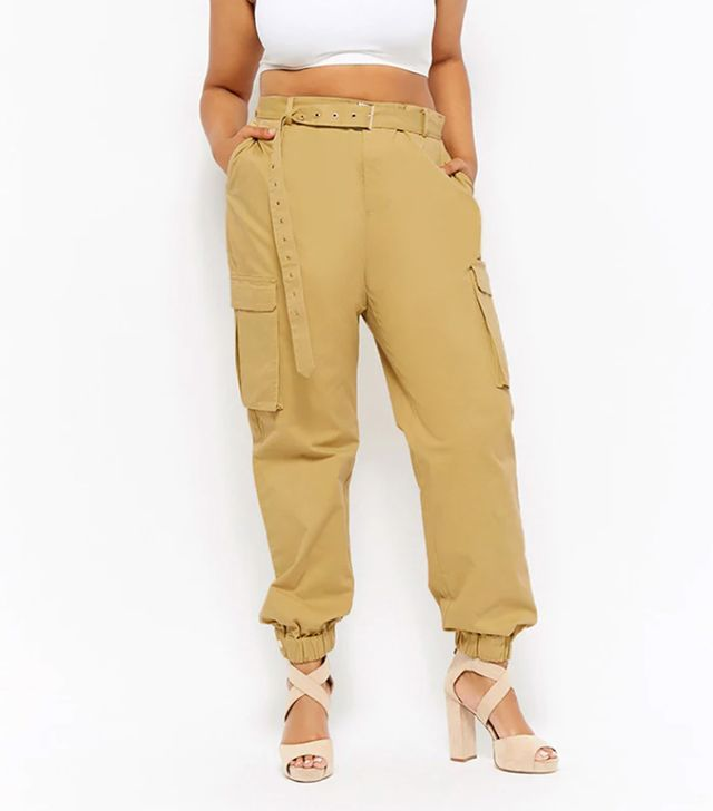 Forever21 Belted Cargo Trousers