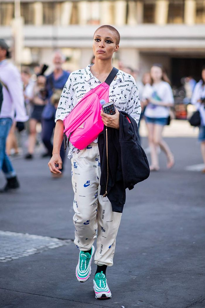 Adwoa Aboah With Fanny Pack