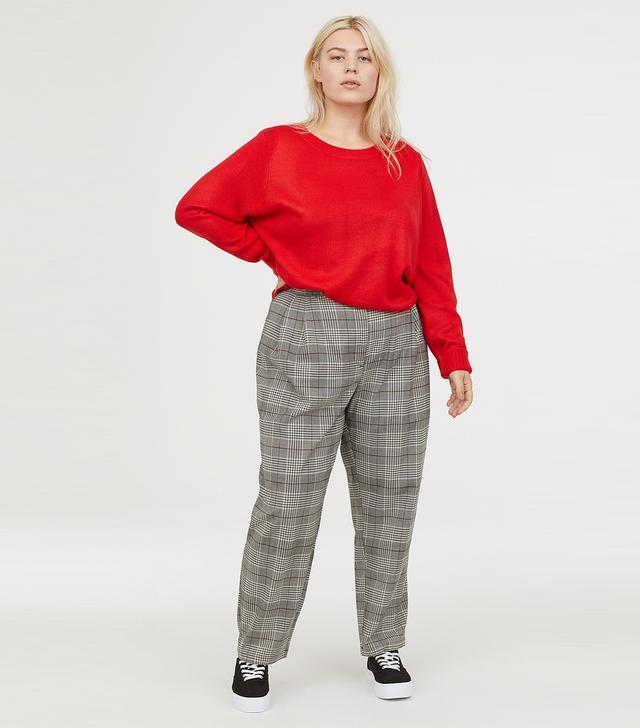 H&M+ Check Pants