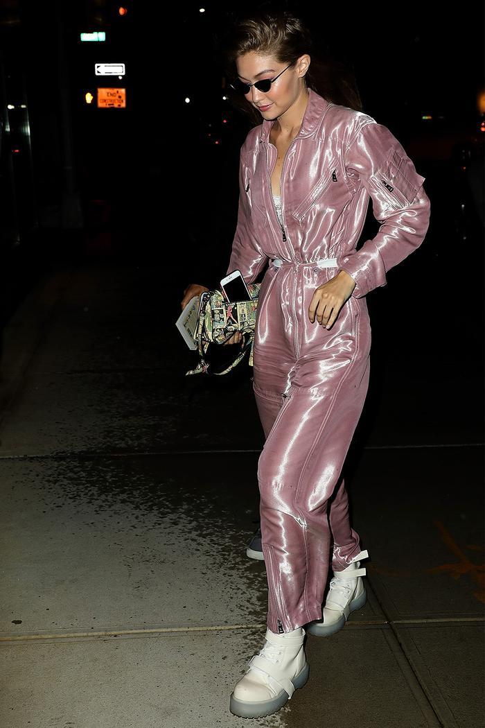 Gigi Hadid jumpsuit