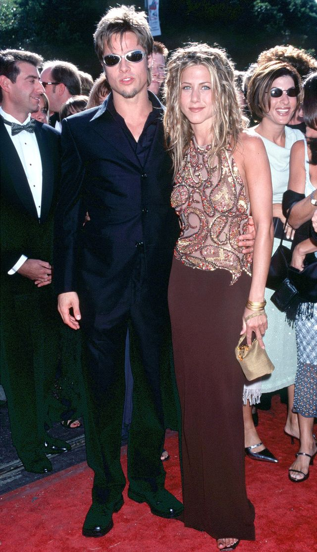 Jennifer Aniston (with Brad Pitt), 1999