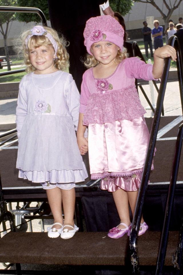 Ashley and Mary-Kate Olsen, 1991
