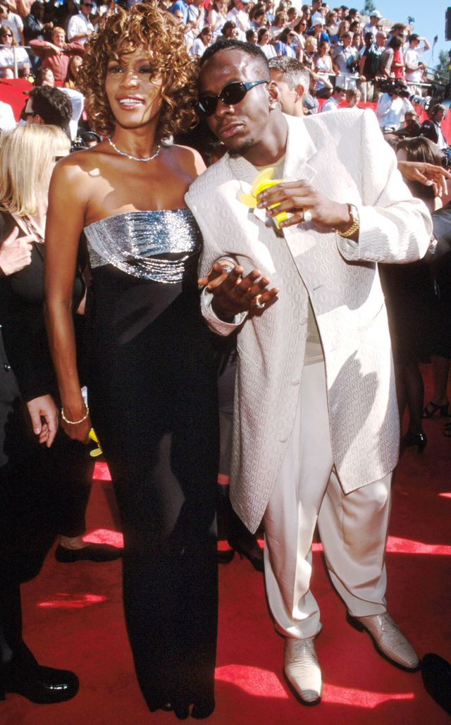 Whitney Houston (with Bobby Brown), 1998
