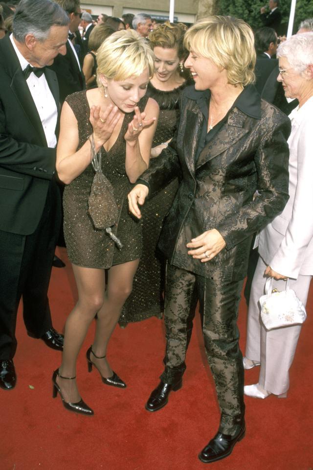Anne Heche and Ellen DeGeneres, 1997