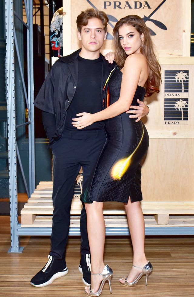 Dylan Sprouse and Barbara Palvin Couple Photos