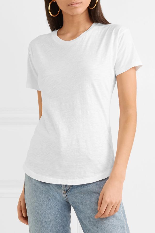 Whisper Slub Cotton-jersey T-shirt