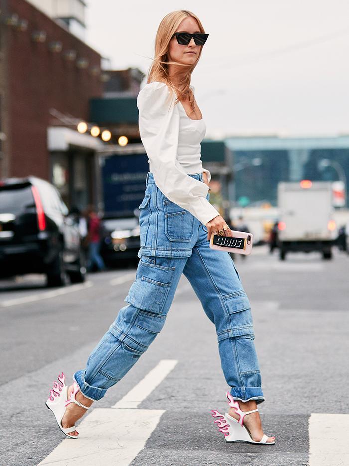 Prada's Flame Heels Are Lighting Up the