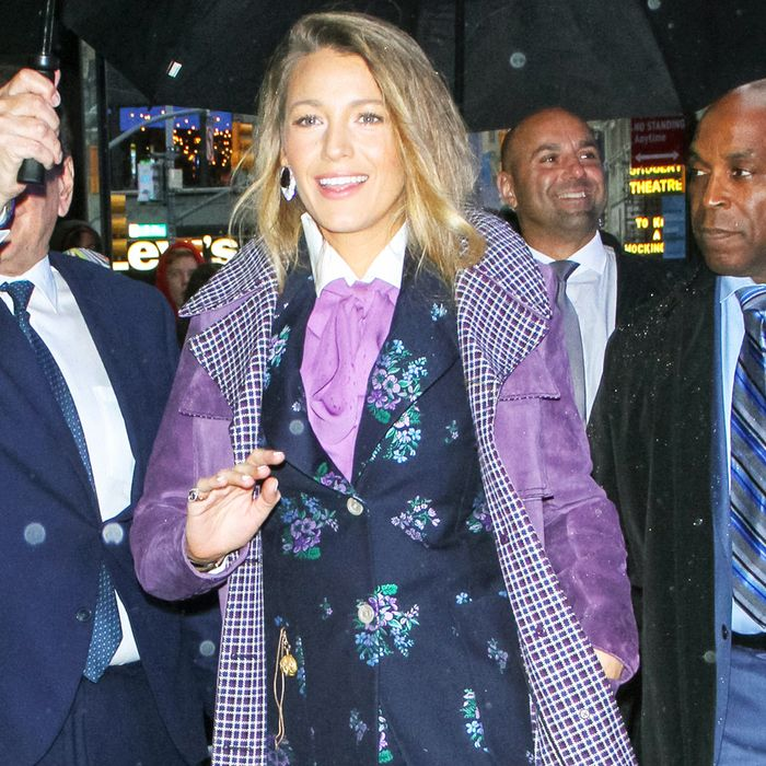 Blake Lively Just Wore the Gucci Pieces Everyone Will Want for Fall