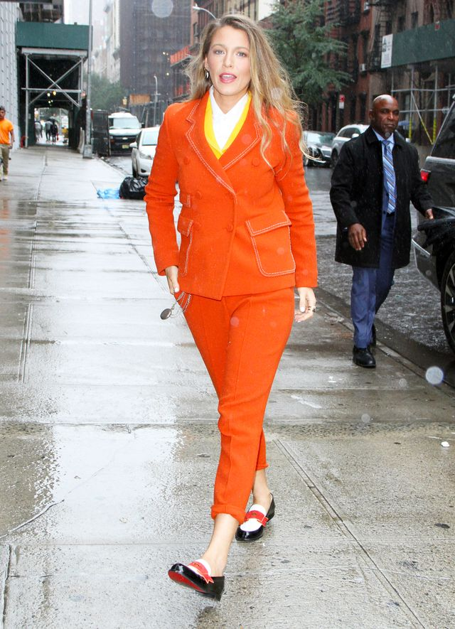 Blake Lively Pantsuits