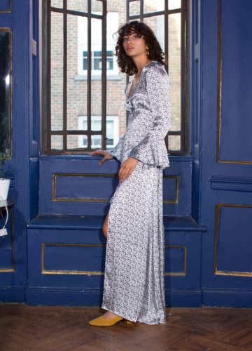 Cinta the Label Cosmic Love Print Kimono Dress