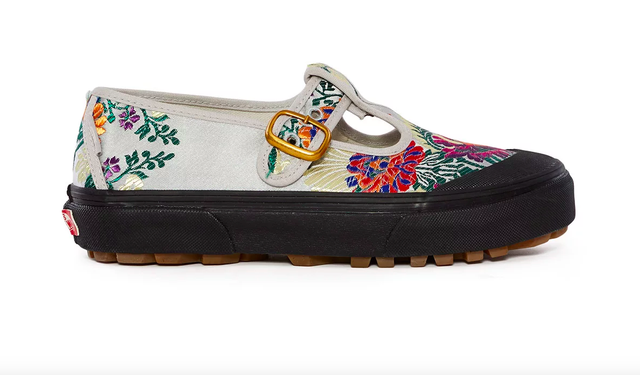 Vans for Opening Ceremony Satin Floral Style 93 Sneakers