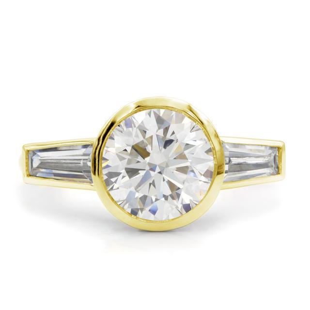 Octavia Elizabeth Meredith Paige Three-Stone Ring