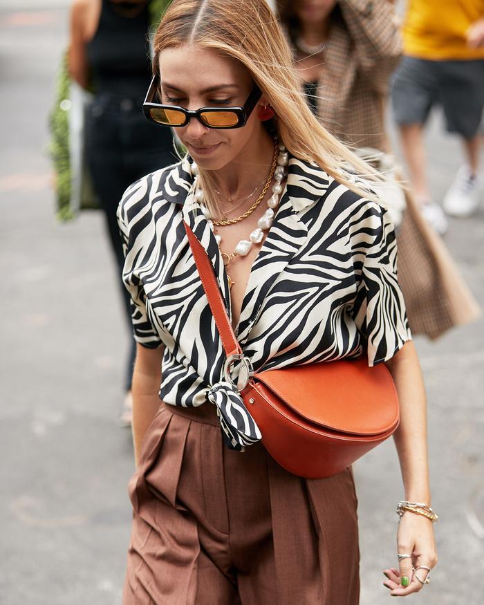 Fall Street Style — Zebra Print