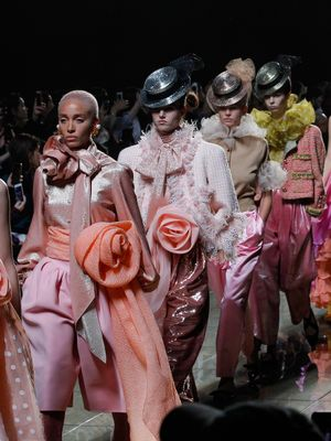 There's So Much to Talk About from the Marc Jacobs Show Last Night
