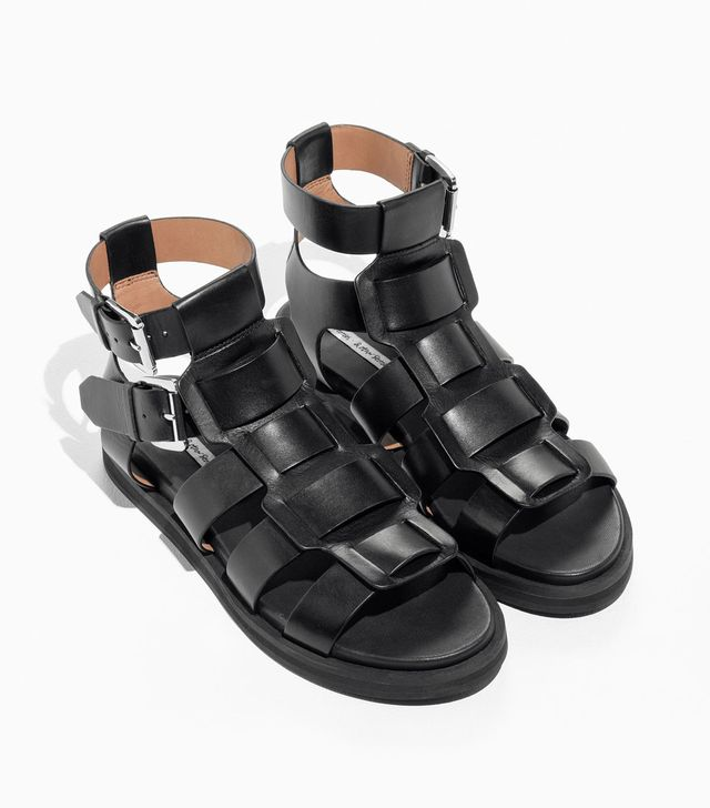 & Other Stories Gladiator Leather Sandals