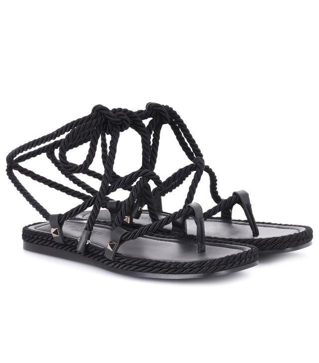 Torchon gladiator sandals
