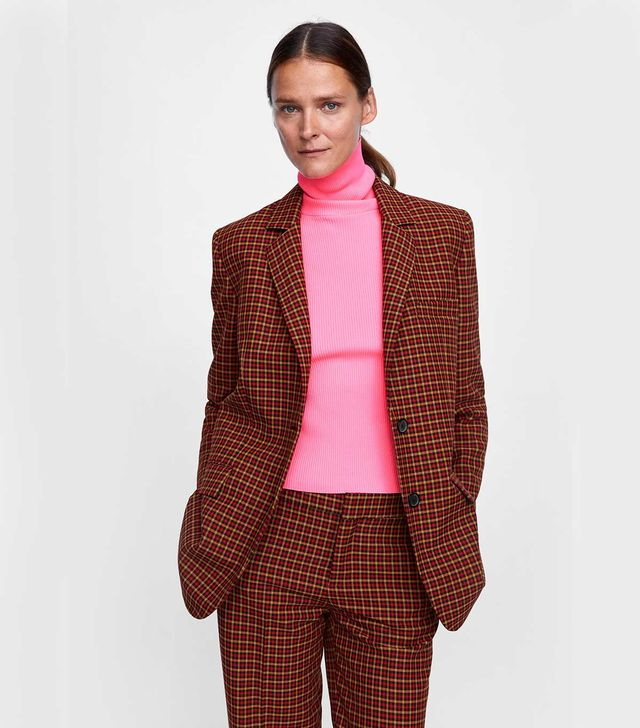 Zara Ribbed Turtleneck Sweater