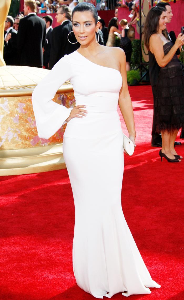 Kim Kardashian at the Emmys 2009