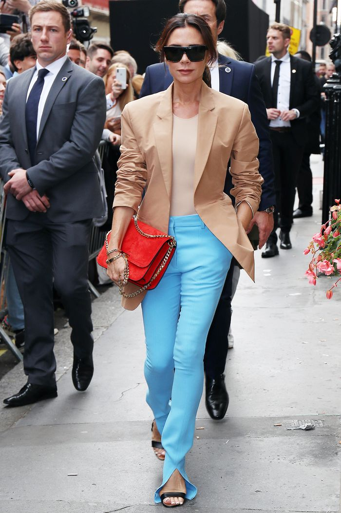 Victoria Beckham fall outfit