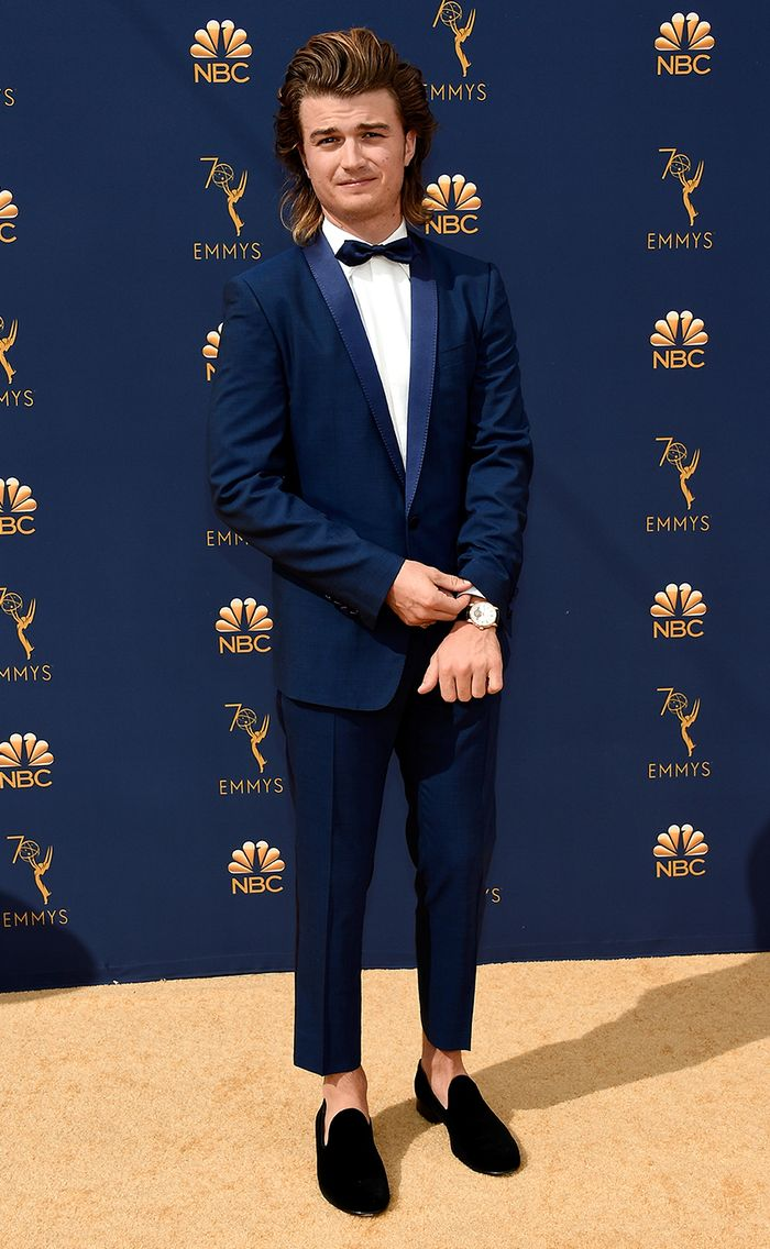 Most Stylish Boys at the Emmys 2018 - Joe Keery