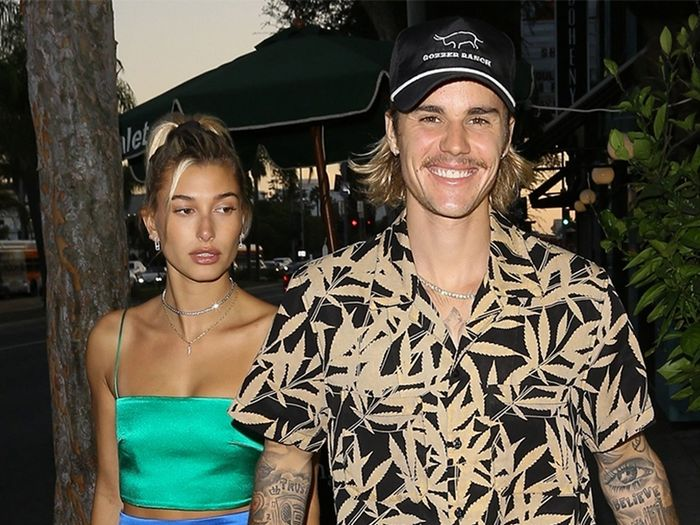 Hailey Baldwin and Justin Bieber outfits