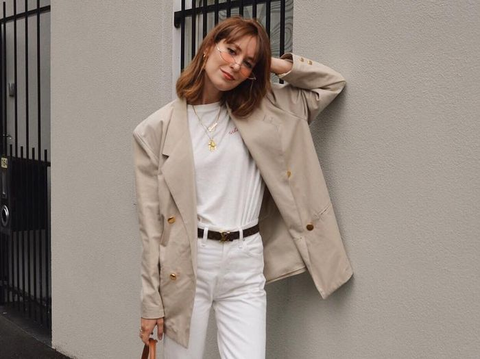 15 All-White Outfits That Look So Fresh for Fall