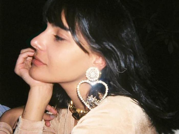 Heart earring trend
