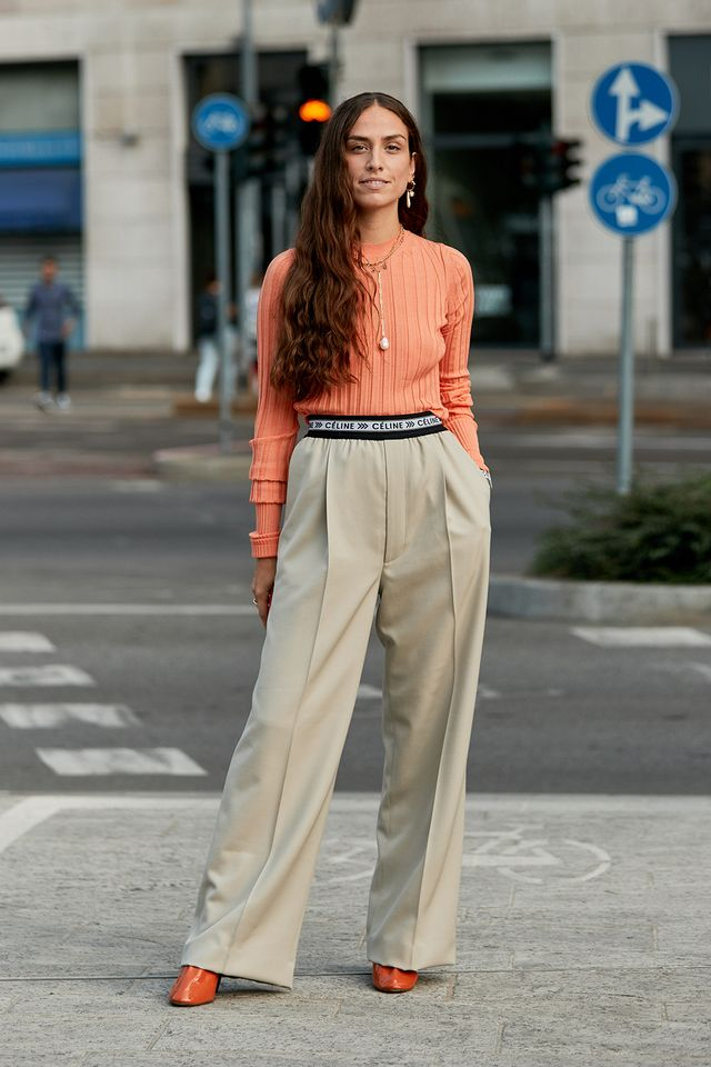The Latest Street Style From Milan Fashion Week Whowhatwear Au